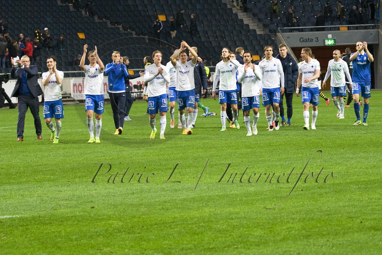 IFK Norrköping klacktackar supportrarna